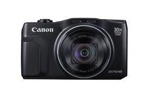 Canon PowerShot SX710 HS, 20,3 MP, 5184 x 3888 Pixel, CMOS, 30x, Full HD, Schwarz