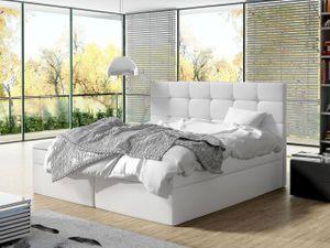 Mirjan24 Boxspringbett Luanda, Doppelbett mit zwei Bettkästen und Matratze, Ehebett (Farbe: Soft 017, Größe: 160x200 cm)