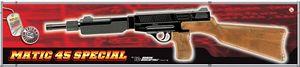Edison Giocattoli 'Matic 45 Special' Spielzeuggewehr, 13 Schuss