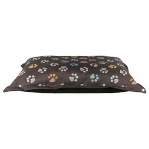 Trixie Hundekissen Jimmy Hundebett Katzenbett Tierkissen 110 × 80 cm braun