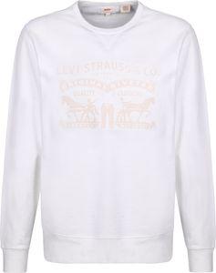 Levis Graphic Crew B Herren Pullover, Farbe:Weiß, Größe:XL