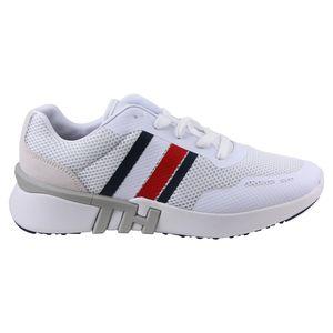Tommy Hilfiger Lightweight Corporate TH Herren Sneaker Weiß (FM0FM02661 YBS) Größe: 45