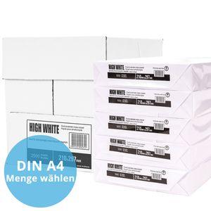Premium Kopierpapier 1000 Blatt DIN A4 Hochweiß Copy Papier Laser Druckerpapier