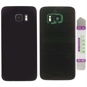 Akkudeckel für Samsung Galaxy S7 mit Kamera Linse Backcover Akkufachdeckel Rückseite Rückschale Gehäuse Schwarz