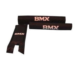 BMX Pads Set schwarz