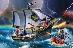 PLAYMOBIL, Rotrocksegler, Pirates, 70412