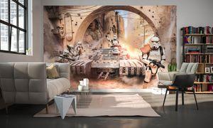 "Komar Digitaldruck Vliestapete ""Star Wars Tanktrooper"", bunt, 400 x 250 cm"
