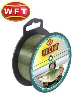 WFT Zielfisch Hecht 250m 0,40mm 12,5kg grün - Angelschnur