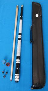 WinEver Billardqueue Set inkl. Tasche, Kreide, Trimmer und Ersatzleder