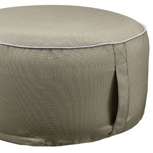 649 - Outdoor Sitzpouf B 55 cm x L 25 cm : toffee 100% Polyester (Outdoor) Farbe: toffee Artikel: 100% Polyester (Outdoor)