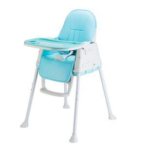 Hochstuhl Kinderhochstuhl Kinderstuhl Babystuhl Verstellbar Kombihochstuhl Treppenhochstuhl ( Blau )