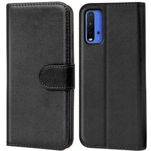 Book Case für Xiaomi Redmi 9T Hülle Flip Cover Handy Tasche Schutz Hülle Etui