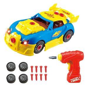 Auto Spielzeug zum Zusammenbauen Montage Spielzeug für Jungen und Mädchen Konstruktionsspielzeug ab 3 Jahren bis 8