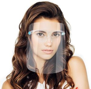 Safety Face Shield Wiederverwendbare Schutzbrille Gesichtsvisier Transparenter Antibeschlagschutz