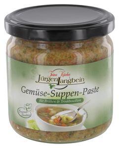Jürgen Langbein Gemüse-Suppen-Paste (400 g)