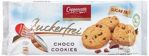 Coppenrath Choco Cookies aus feinherber Zartbitter Schokolade zuckerfrei 200g