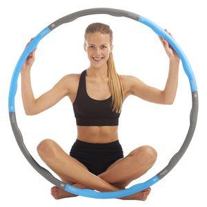Just be...® Fitness Hula Hoop Reifen - Blau 1.5kg