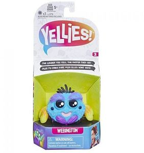 Hasbro Yellies! Serie 2 - interaktive Spinnen - Webington