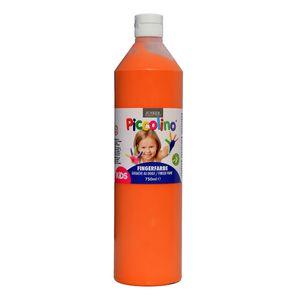 Piccolino Fingerfarbe Orange, 750 ml Flasche