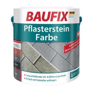 BAUFIX Pflasterstein Farbe grau