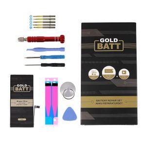 Goldbatt Akku für Apple iPhone 7 plus + mit Werkzeug Reparatur Set + Anleitung Premium Batterie