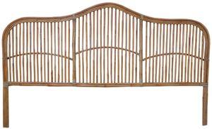 SIT Möbel Bett-Kopfteil | aus Rattan | natur | B 200 x T 4 x H 120 cm | 07996-58 | Serie ROMANTEAKA