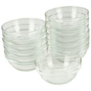Glasschüssel Ø 10,5 cm, 12 Stück im Set