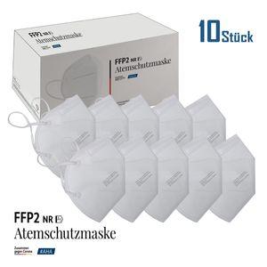 10x Antiviron  Atemschutzmaske FFP2 Farbe weiss Deutscher Herstellung