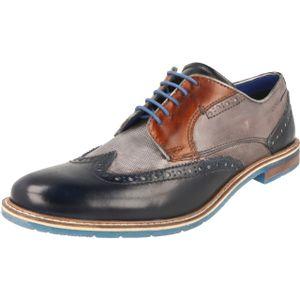 Bugatti Herren Halbschuhe Blau/Grau, Schuhgröße:EUR 47