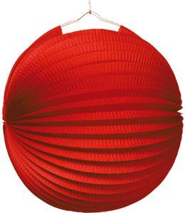 Amscan lampion 25 cm Papier/Metallrot