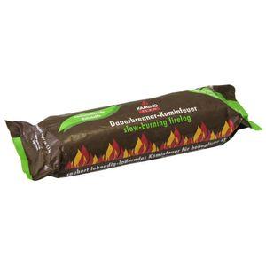 Danto Spar-Set: 20 Stück KaminoFlam® Dauerbrenner-Kaminfeuer, 100 % nachwachsende Rohstoffe, für Kaminofen, Kachelofen, Holzofen