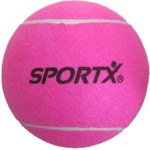 SportX Jumbo Tennisball Xl Ros, Gasgefüllter Tennisball, XL, Pink, 1 Stück(e), CHN, 22 cm