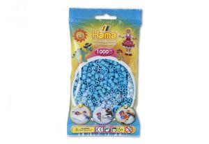 HAMA Perlen Azur Blau 1.000Stück
