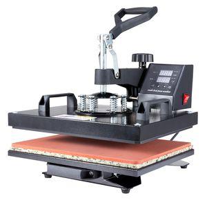 Crenex 1250W 30x38cm Hitzepresse Heißpresse T-Shirtpresse Transferpresse Textilpresse