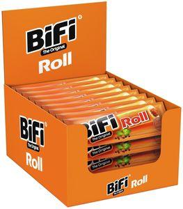 BiFi Original Roll 24 x 45g Salami im Teigmantel Wurstsnack