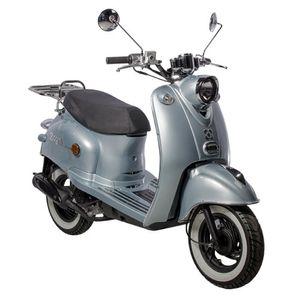 GMX 460 Retro Classic NF Edition Motorroller 45 km/h hellblau