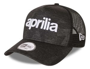 New Era - Aprilia Engineered Fit 2 Wordmark 9Forty Strapback Cap - Grau : Grau One Size Farbe: Grau Größe: One Size