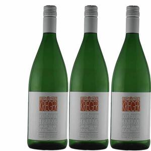 Weißwein Pfalz Müller Thurgau Weingut Krieger Rhodter Ordensgut feinherb  (3x1,0l)