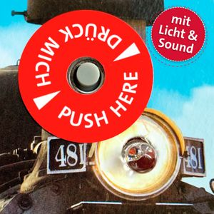 Roth Zug-Schultüte Lokomotive mit Licht & Sound, 85cm
