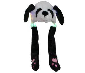 Wackelohren Mütze Panda, Variante wählen:Panda mit LED