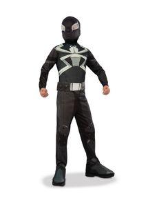 Venom-Kinderkostüm für Jungen schwarz-weiß