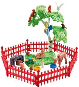Playmobil 9817 Country Wildtiergehege Zoo Tierpark Wildpark Freigehege Streichelzoo