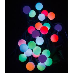Stimmungsvolle LED Lichterkette Party Lichterkette mit 50 bunten LED´s