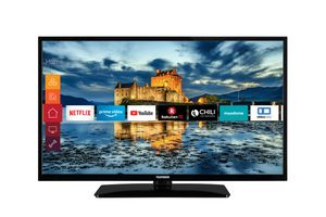 Telefunken HD LED TV 98cm (39 Zoll) D39H500X1CW Triple Tuner, Smart TV, HDR10