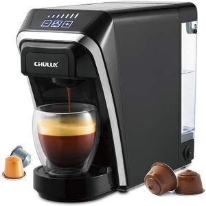 CYE&Kapselkaffeemaschine, Chulux Multifunktionale Single-Serve-Kaffeemaschinen Kompatibel mit Nespresso- und Dolce Gusto-Kapseln für den Heimgebrauch