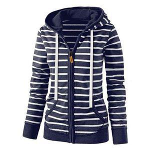 Frauen Langarm Leichter Casual Strick Cardigan Pullover Größe:L,Farbe:Blau