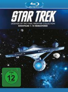 STAR TREK  I-X BOX (BR) dig. remastered Min: 1133DD5.1WS  Kinofilme 01-10 - ParamountCIC  - (Blu-ray Video / Science Fiction)
