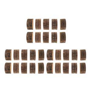30 Stück Holz Holzsteg Tischkartenhalter Platzkartenhalter Kartenhalter Platzkarte