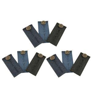 9 Stücke Hosenerweiterung/Bunderweiterung, Hosenbund Verlaengerung für Jeanshosen Jeansröcke und Shorts