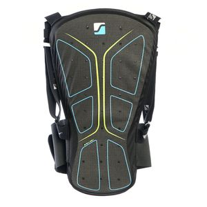 Stuf Soft Shield - Herren Rückenprotektor - 130276-9805 schwarz/blau/grün